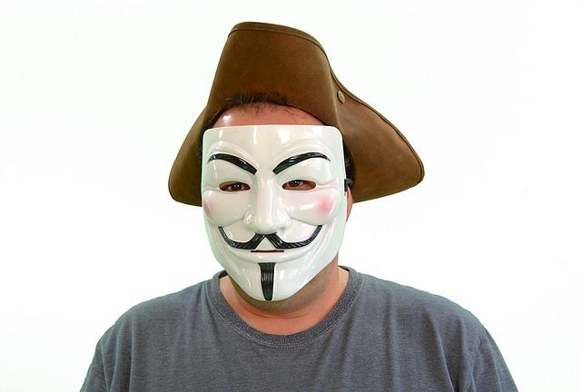 anonymní hacker
