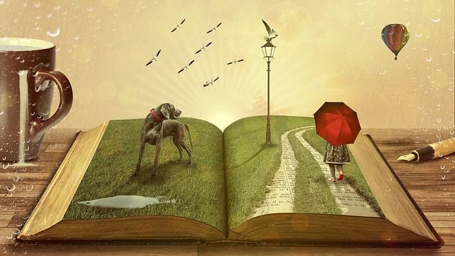 kniha s ilustracemi