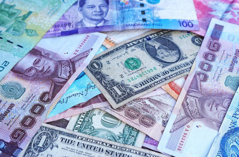 poházené bankovky