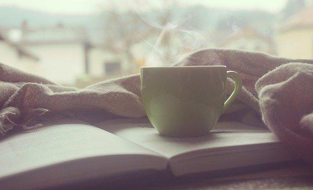 ranní šálek kávy