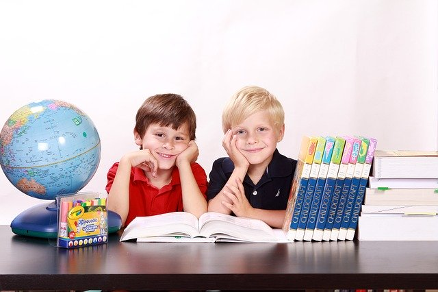 Chlapci, knihy