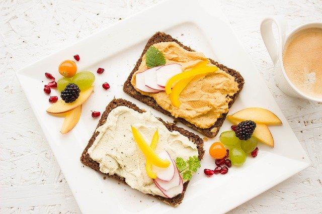 obložený chléb
