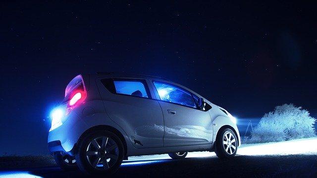 Vhodná světla do auta